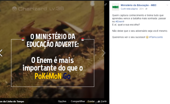 pokemon go estudar